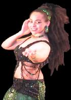 Bastet: PiperMethod certified professional belly dancer in Baltimore