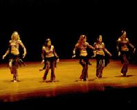The Baltimore Daughters of Rhea Dance Ensemble perform Piper's Stray Cat Strut Choreography